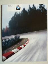 Prospectus/Brochure BMW e46 m3 CSL, 1.2003, 16 pages, English