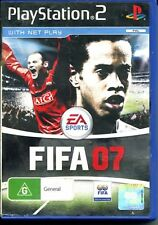 PS2 FIFA 07  manual included