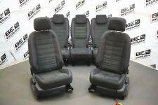 VW Touran II 5T Innenausstattung Sitze Stoff Alcantara schwarz SET SEATS