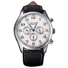 BT Jaragar Automatic Winding Mechanical Black Dial Men's Wrist Watch