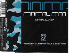 MINIMAL MAN - Minimal man EP CDM 6TR Techno UK 1993 VERY RARE!!