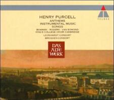 Purcell Anthems Instrumental Music Songs Bowman Rogers van Egmond
