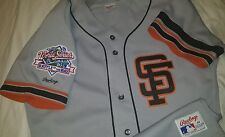 Will Clark San Francisco Giants 1989 World Series Authentic Rawlings Jersey Sz40