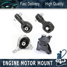 Motor Mount /& Transmission Mount 4PCS Kit for 2012-2016 Honda CR-V 2.4L