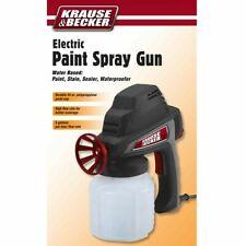 New Electric Paint Spray Gun Latex Paints Amp Water Based Sealersflow Rate 5gph