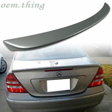 PAINTED For Mercedes benz W203 C-CLASS A TRUNK SPOILER WING ABS C55 C350 C280