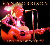 Van Morrison - Live In New York '78 (2018)  2CD Limited Numbered Edition  NEW