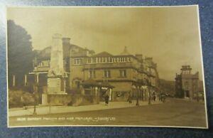 Vintage 1943 Judges' Postcard 14139 - Dunoon Pavilion and War Memorial