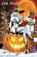 "Lady Death Gallery #1 ""Christmas Naughty Nightmare""    Ltd. Ed. 100   Comic Book"