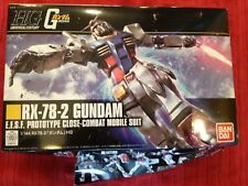 GUNDAM HG 1/144 SCALE ESFS RX-78-2 CLOSE COMBAT PROTOTYPE MOBILE SUIT KIT