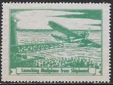USA Cinderella: R.O.C.1936 Aviation Series -Launching Seaplane from Ship-dw933.1