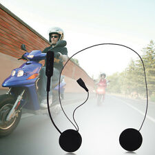 Universal Bluetooth Handsfree Motorcycle Helmet Intercom Headset Speakers Mic