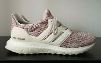 Womens Adidas Ultraboost 4.0 Pink Static Knit Trainers VGC - UK 6