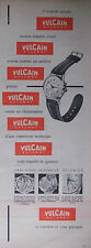 PUBLICITÉ PRESSE 1953 MONTRE VULCAIN CRICKET SONORE COMME CARILLON -ADVERTISING