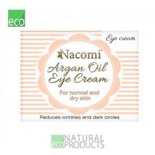 Nacomi Natural Aceite de Argán Crema de Ojos con aceite de semilla de uva 15 Ml