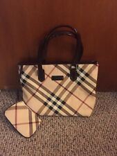 Burberry Nova Check With Strap Shoulder Tote Bag