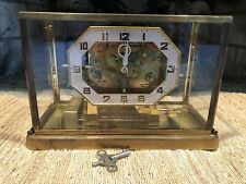 VINTAGE STYLE KING TRIPLE CHIME SKELETON CLOCK,PLAYS WESTM., WINCHE. & WHITT.