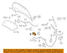 VOLVO OEM 10-15 XC60 Hood-Lock Latch 31356005