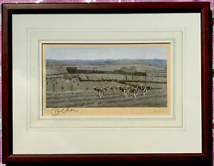 Cecil Aldin Limited Edition Hunting Print The Warwickshire