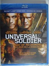 NEW/SEALED - Universal Soldier: Day of Reckoning (Blu-ray/DVD, 2013)