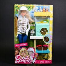 Beekeeper Barbie Playset Doll by Mattel New Unopened