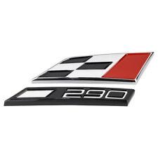 Schriftzug Logo CUPRA 290 Raceflag Seat Leon 5F Ibiza 6J Emblem Zeichen badge