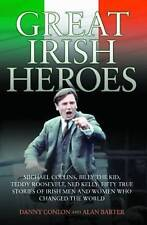 Great Irish Heroes: Michael Collins, Billy The Kid, Teddy Roosevelt,-ExLibrary