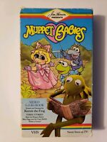 Muppet Babies Video Storybook Vol. 1 VHS hosted and narrated by Kermit the Frog