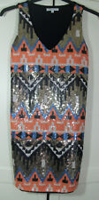 Glamorous Stretch Body Con Sequin Party Evening Dress Size XS