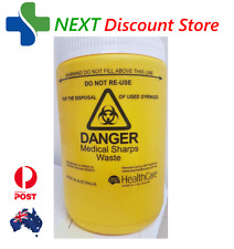 1.2L WASTE BIN SHARPS CONTAINER FOR NEEDLE / SYRINGE