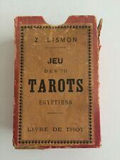 Tarot Égyptien. Le grand Eteilla, ou l'art de tirer les cartes (1853)