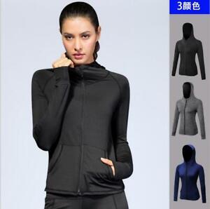Fall/ Winter Women's Sportswear Hooded Jacket PRO Fitness Running Jacket Coats