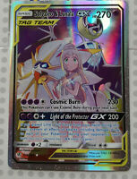 Pokemon card Solgaleo & Lunala GX 216/236 HOLO FULL ART Mint Cosmic PROXY CARD