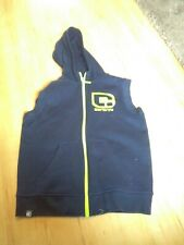 Carbrini Boys Blue Slievless Tracksuit Top Age 10-12 Years