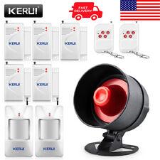 KERUI  Wireless Burglar Alarm System Local Siren Speaker Security Home Alarm