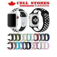Silicone Wrist Strap Band Nike Sports Bracelet for Apple Watch iWatch All Series