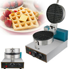 Electric Egg Cake Oven Puff Bread Maker Stainless Steel Waffle Bake Machine