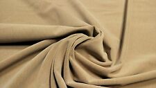 "BEIGE AUTOMOTIVE VELVET AUTO UPHOLSTERY FABRIC 54""W SEAT COVER OEM QUALITY"