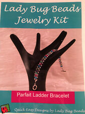 Lady Bug Beads Jewelry Kit Parfait Ladder Bracelet Multicolored