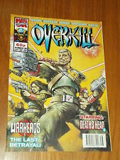 OVERKILL #38 MARVEL BRITISH MAGAZINE 24 SEPTEMBER 1993 WARHEADS DEATHS HEAD II^
