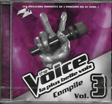 CD TV THE VOICE VOL 3 16T NEUF SCELLE LOUIS DELORT/VIGON/AL.HY/RIZON/MAGLOIRE