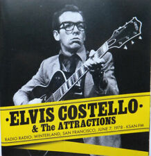 CD - ELVIS COSTELLO & THE ATTRACTIONS, LIVE at Winterland in 1978, on KSAN-FM