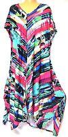 TS dress TAKING SHAPE plus sz M / 18 - 20 Island Fever Dress stretch NWT rp$130!
