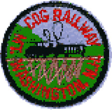 Eastern Railroad Patches,  Price is for one patch.