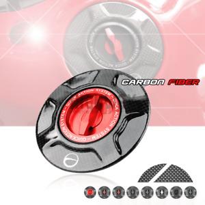 Carbon Twill Racing Fuel Tank Cover Gas Caps for Ducati SCRAMBLER 1100 2015-2020