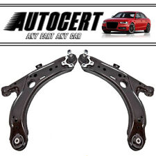 VW GOLF MK4 (98-05) FRONT LOWER SUSPENSION CONTROL ARMS / WISHBONES PAIR L + R