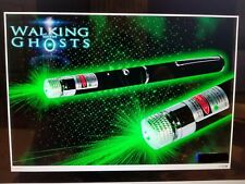 GREEN LASER GRID PEN POINTER MARKER PARANORMAL GHOST HUNTING TOOL 5MW