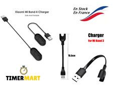 Chargeur Adaptateur Câble USB pour Xiaomi Mi Band 3 ou 4 Bracelet Noir