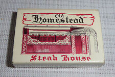 Vintage Box of Old Homestead Steak House Wood Matches