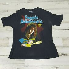 RARE ! Yngwie Malmsteen Rising Force Odyssey Tour 1988 vintage t-shirt (size: L)